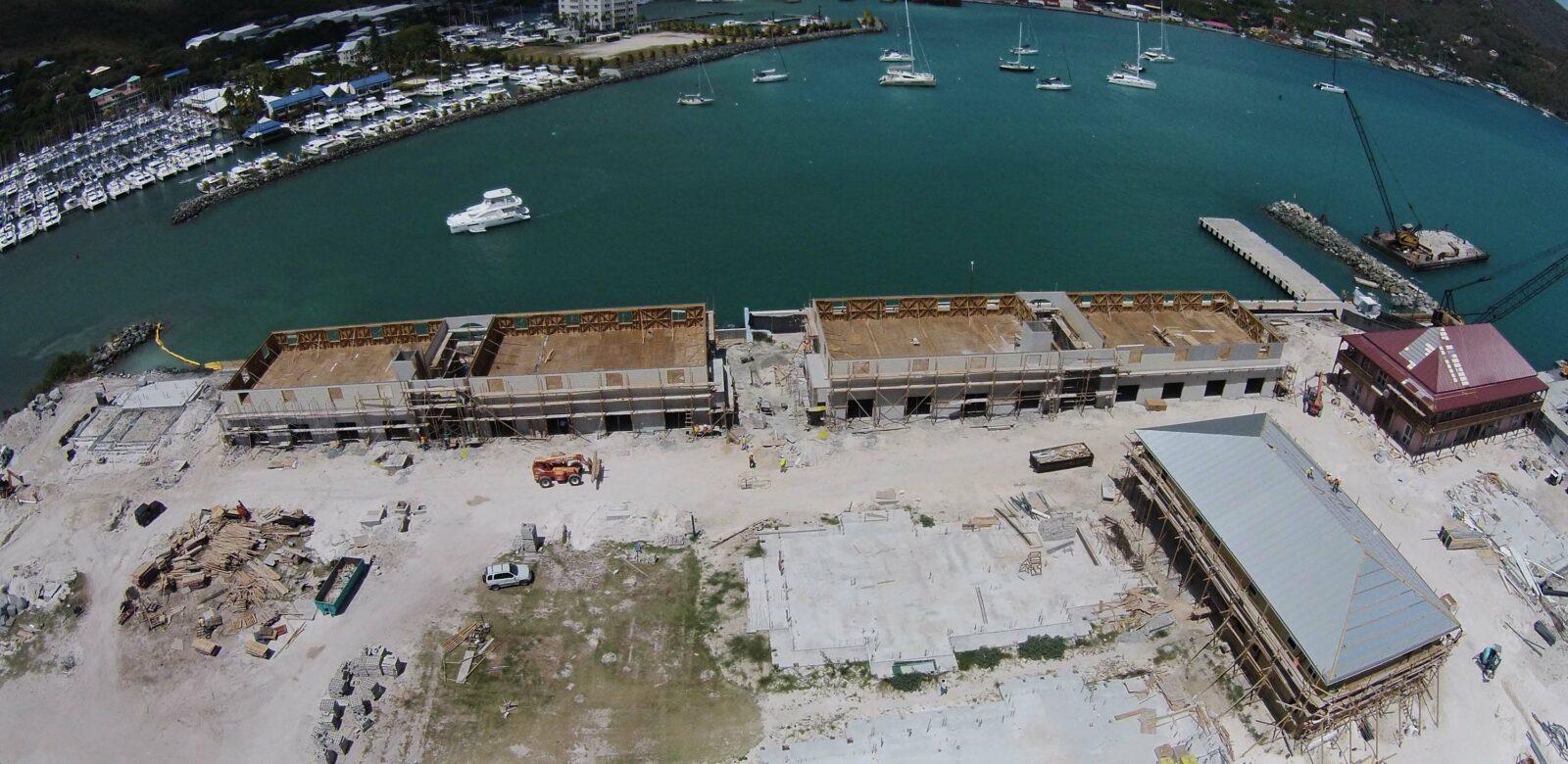 British Virgin Islands (BVI) Cruise Ship Pier Expansion