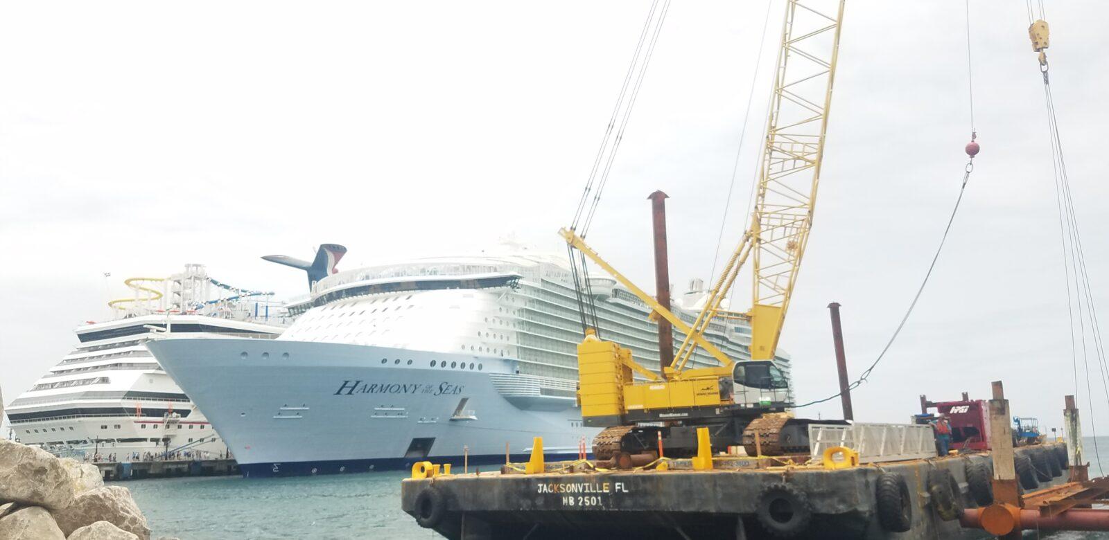 St. Kitts Cruise Ship Pier