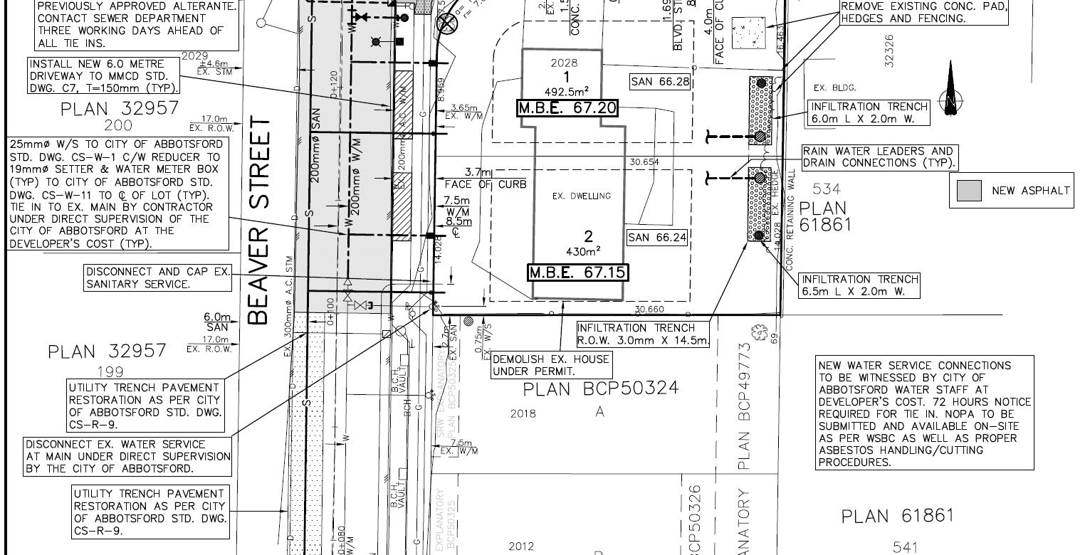 Abbotsford BC – Two-Lot Development