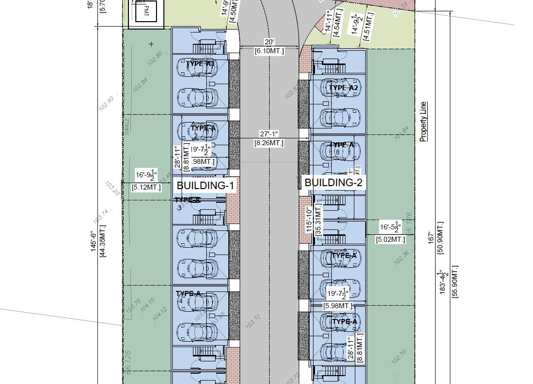 Township of Langley BC – 9 Unit Multi Family Development
